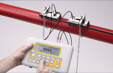 PF220 portable ultrasonic clamp on flow meter PF220A/B