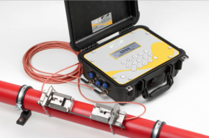 portable ultrasonic clamp on flow meter PF440IP