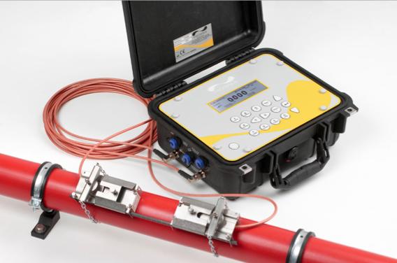 portable ultrasonic clamp on flow meter PF440IP