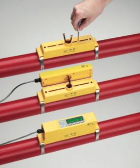 inexpensive ultrasonic clamp on flow meter U1000