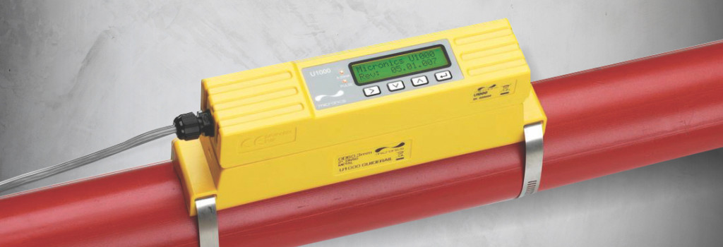 U1000 Clamp on ultrasonic flow meter