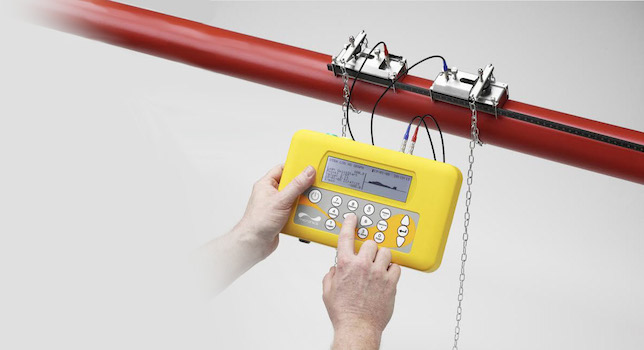 PF330 Portable Clamp on ultrasonic flow meter